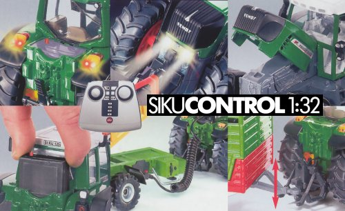 SIKU Control 1:32 remote controlled SIKU models with a higher level of detail