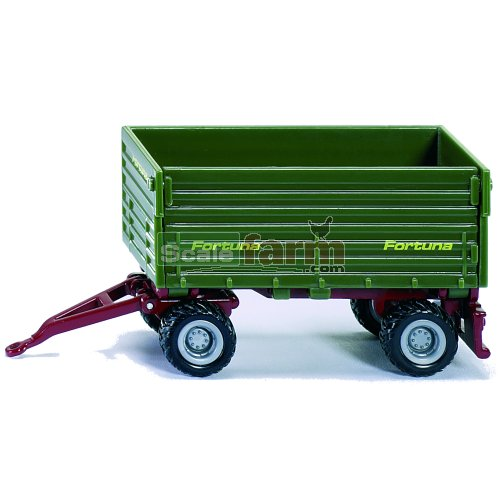Fortuna Twin Axle Side Tipping Trailer (SIKU 1077)