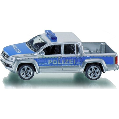 VW Amarok Police Pick-up Truck (Polizei) (SIKU 1406)