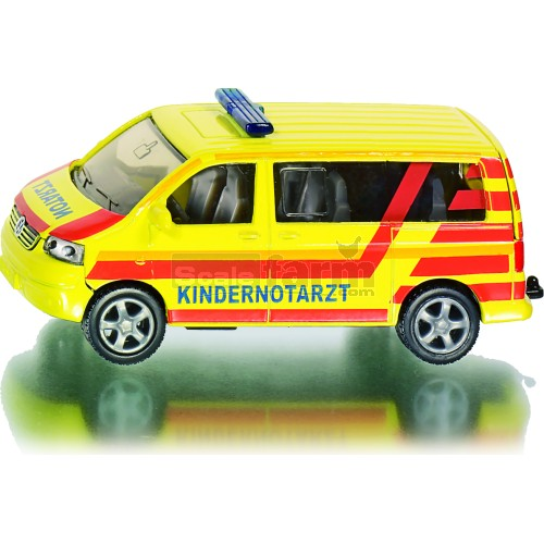 VW Children Emergency Ambulance (Kindernotarzt) (SIKU 1462)