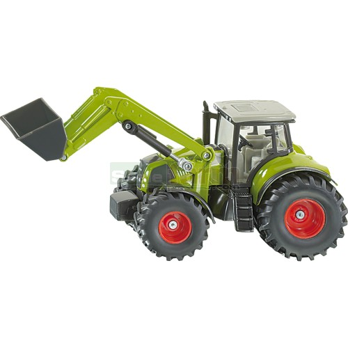 CLAAS Axion Tractor with Front Loader (SIKU 1979)
