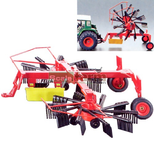 FELLA Whirl Rake (Lateral Swather) (SIKU 2451)