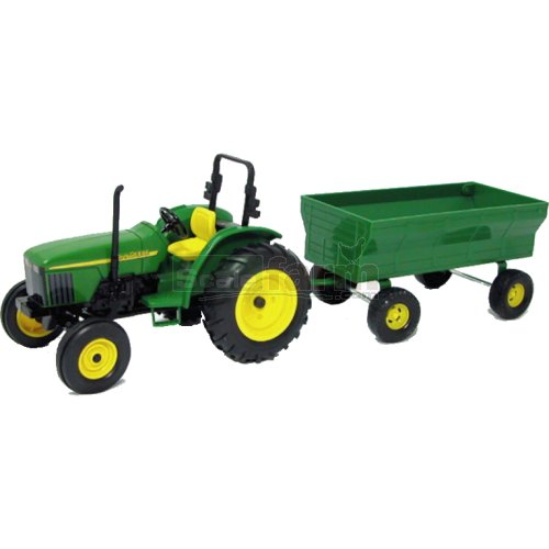 John Deere Tractor and Wagon (Britains 37163A1)