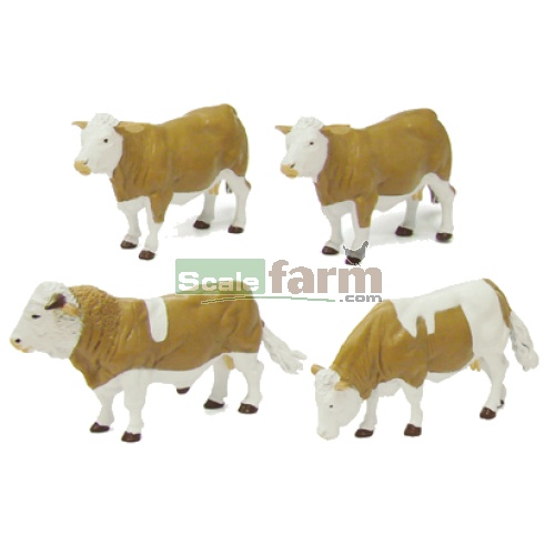 Simmental Cattle (Britains 42351)