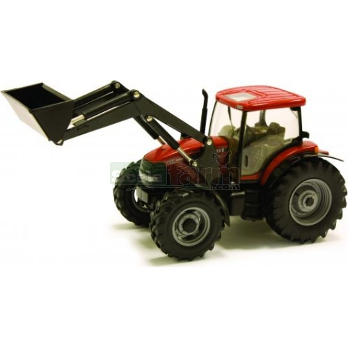 Case IH 110 Maxxum Tractor with Front Loader (Britains 42688)