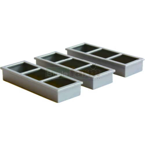 Troughs (Pack of 6) (Britains 42766)