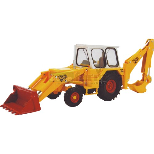 JCB 3C Mark III Backhoe Loader (Britains 42905)