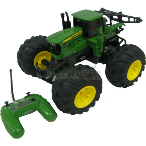 John Deere Monster Treads Radio Controlled Tractor (Britains / ERTL 42921)