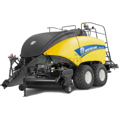New Holland Big Baler 1290 Cropcutter Square Baler (Britains 42977)