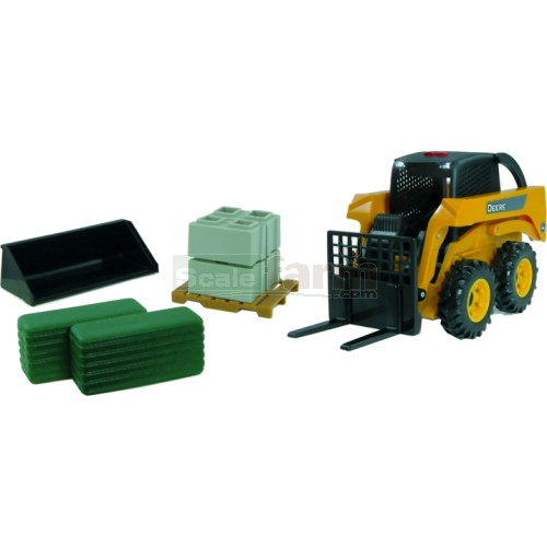 John Deere Skid Steer Set - Big Farm (Britains 42992)