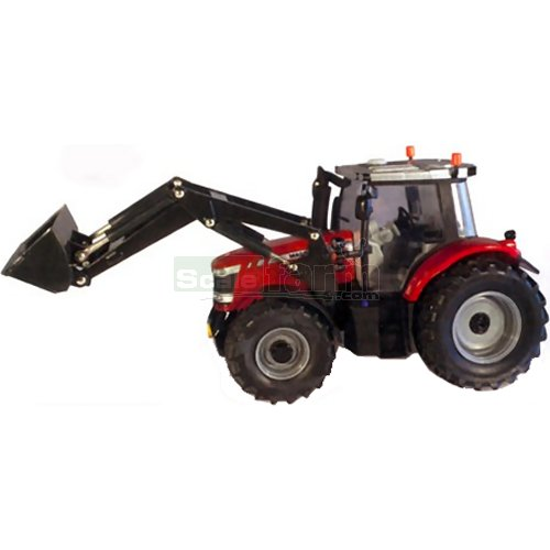 Massey Ferguson 6616 Tractor with Frontloader (Britains 43082A1)