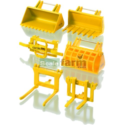 Front Loader Accessories (SIKU 7070)