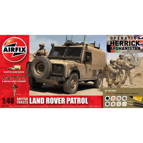 British Forces Land Rover Patrol Set (Airfix 50121)