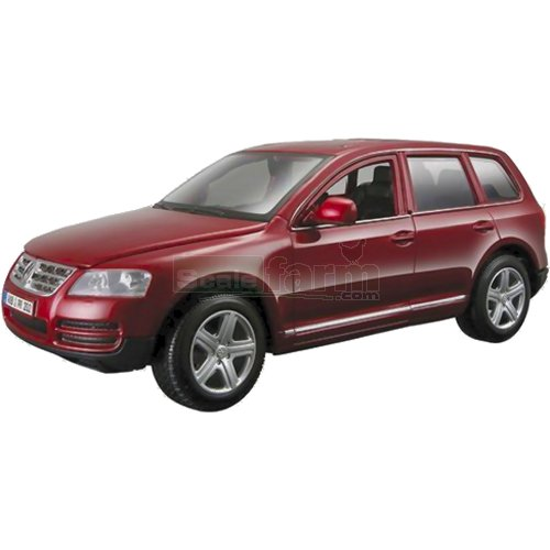VW Touareg - Red (Bburago 22015)