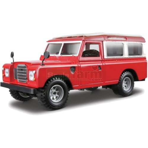 Land Rover S3 109 - Red (Bburago 22063)