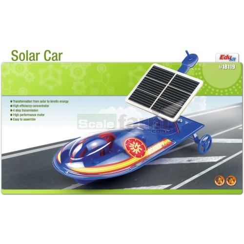 Solar Powered Electric Motor Kit: Solar Powered Car Educational Model Kit