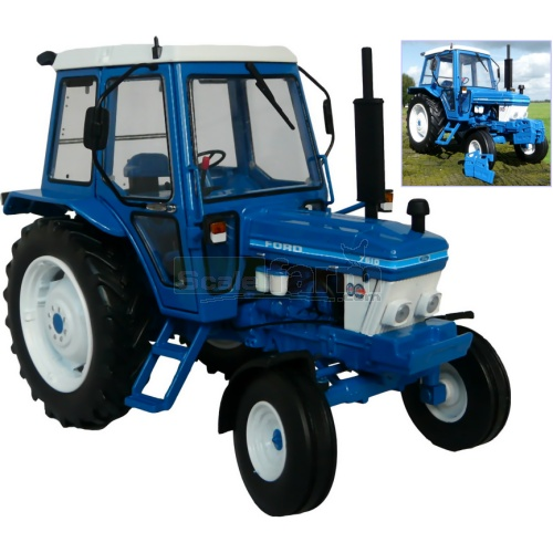 Ford 7610 2WD Tractor (1st Gen) (MarGe 1101)