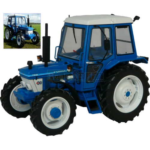Ford 7610 4WD Tractor (1st Gen) (MarGe 1102)