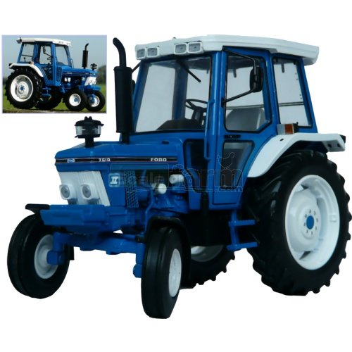 Ford 7610 2WD Tractor (2nd Gen) (MarGe 1103)