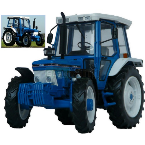 Ford 7610 4WD Tractor (2nd Gen) (MarGe 1104)