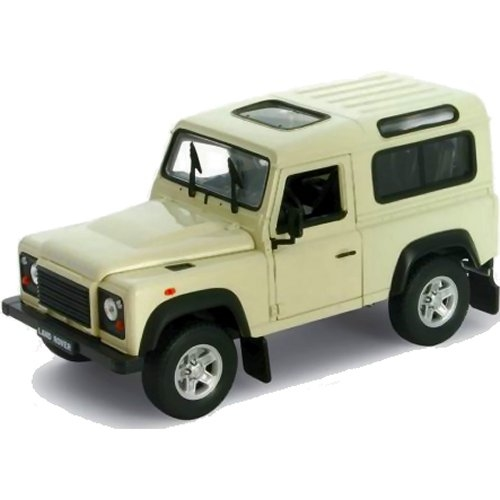 Land Rover Defender - White (Welly 22498)