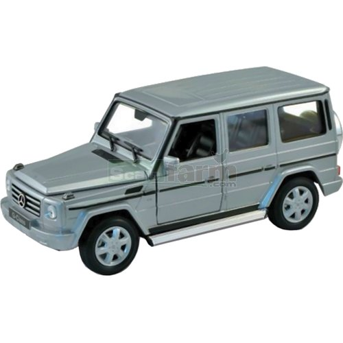 Mercedes Benz G-Class - Silver (Welly 24012)