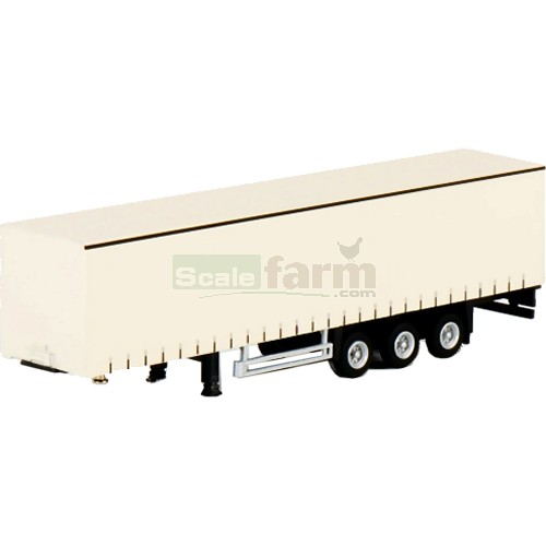 Curtainside Trailer - White (WSI 08-1075)