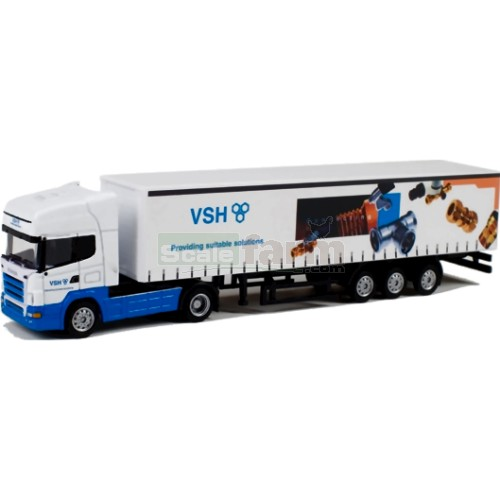 Scania R Topline Truck with Curtainsider Trailer - VSH (WSI 911)