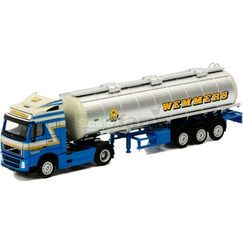 Volvo FH2 Globetrotter Truck with Tanker Trailer - Wemmers (WSI 985)