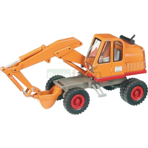 Atlas 1200 Mobile Excavator - Orange (NZG 606)