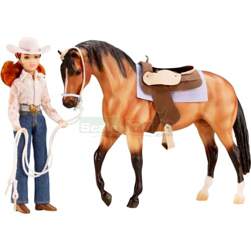 Let's Go Riding Western Set (Breyer 1410)