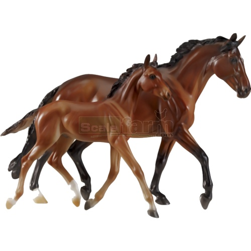 GG Valentine and Heartbreaker - Spirit of the Horse (Matt) (Breyer 1474)