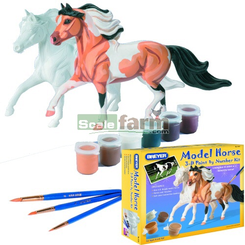 Model Horse 3D Paint By Numbers Kit (Breyer 4116)