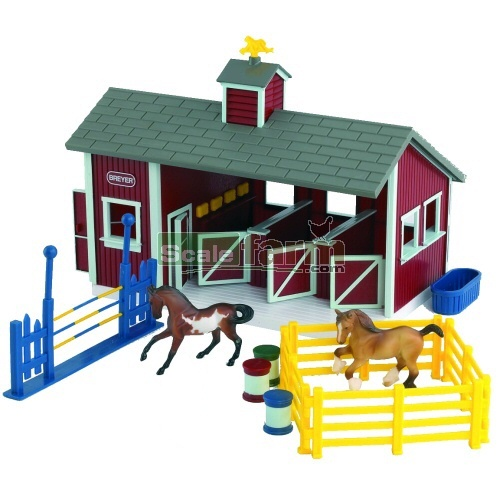Stablemates Red Stable Set (Breyer 59197)