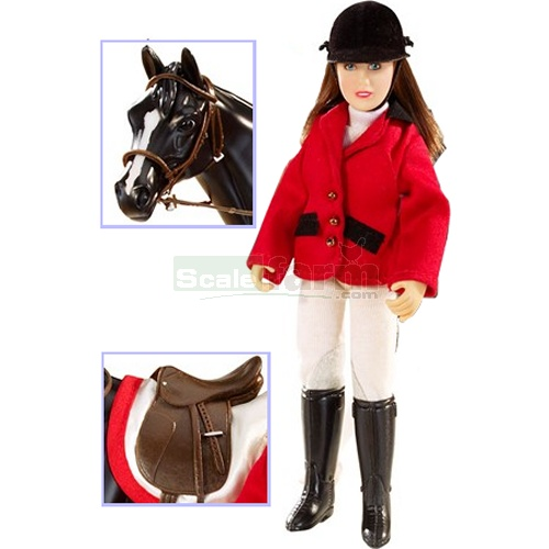 Show Jumper Chelsea Doll and Accessory Set (Breyer 61052)