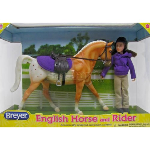 English Horse and Rider Set (Breyer 61069)