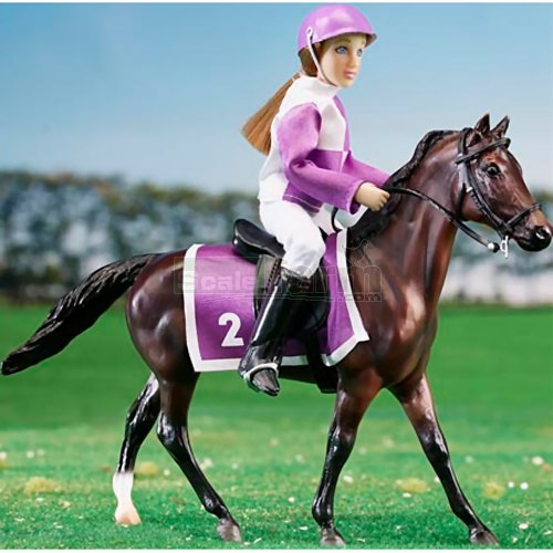 Race Horse and Jockey Set (Breyer 62037)