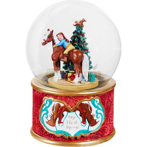 My First Pony Musical Snow Globe (Breyer 700236)
