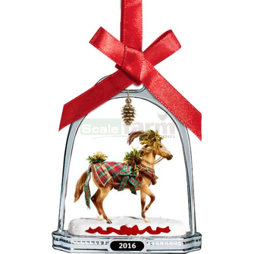Woodland Splendor - 2016 Holiday Horse Stirrup Ornament (Breyer 700317)