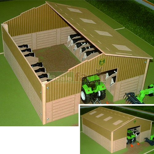 Basics Wooden Cow House (Brushwood BB9200)