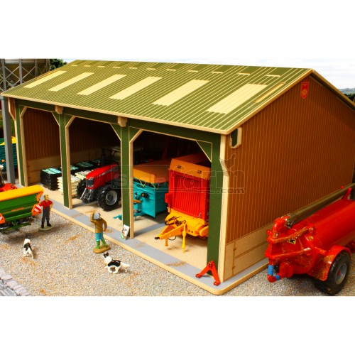 Basics Open Barn - 3 Bay (Brushwood BBB150)