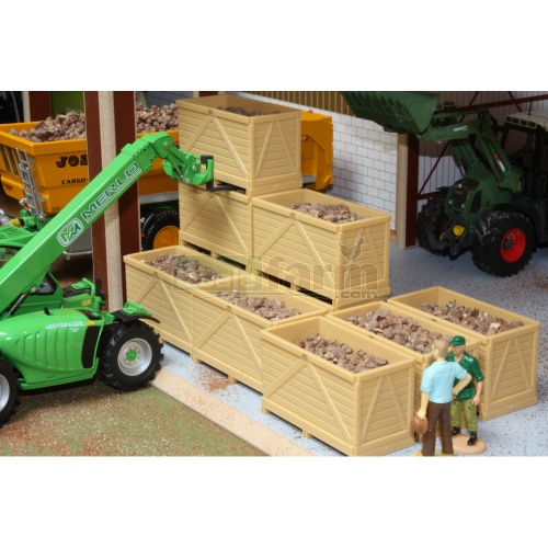 Potato Boxes with Potatoes (Brushwood BT2079)