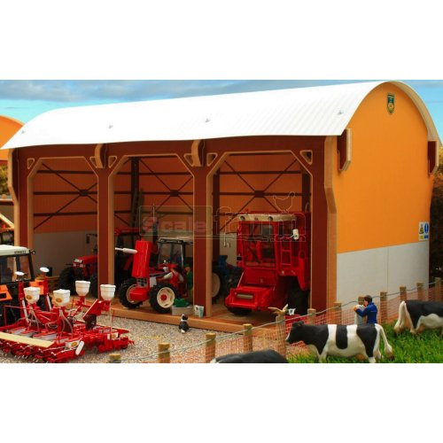 Dutch Barn - Tractor Shed (Brushwood BT8980)