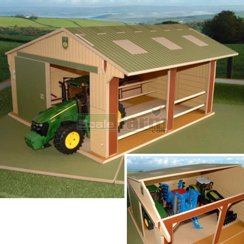 Wooden Large Scale Utility Shed (Brushwood BT9500)