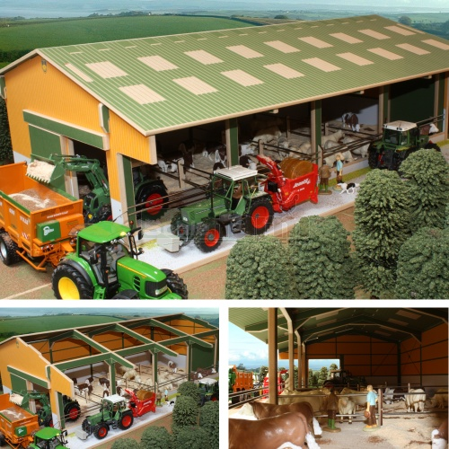 Wooden Euro Livestock Unit (Brushwood BTEURO2)