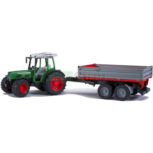 Fendt 209S Tractor with Tipping Trailer (Bruder 02104)