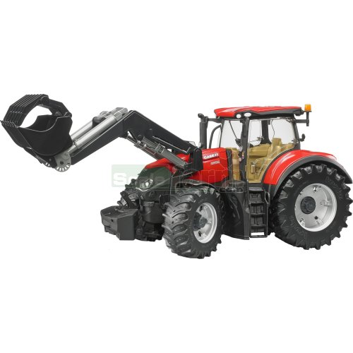 Case IH Optum 300 CVX Tractor with Front Loader (Bruder 03191)