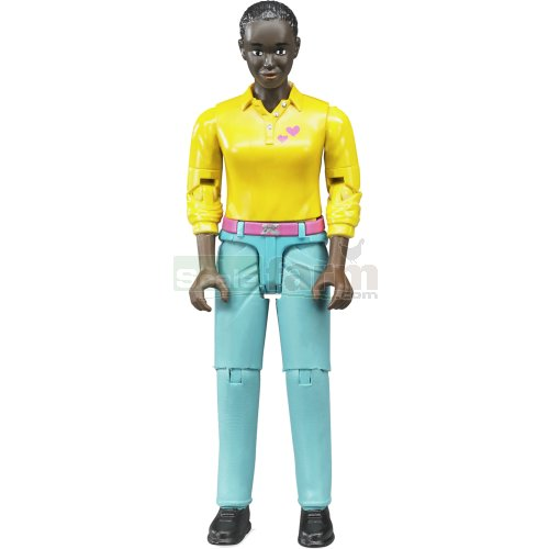 bWorld Woman with Turquoise Jeans (Bruder 60404)