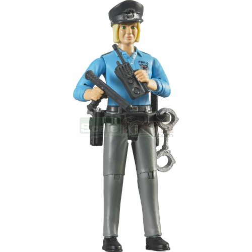 bWorld Policewoman with Accessories (Bruder 60430)