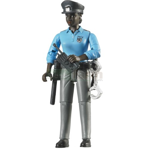 bWorld Policewoman with Accessories (Bruder 60431)